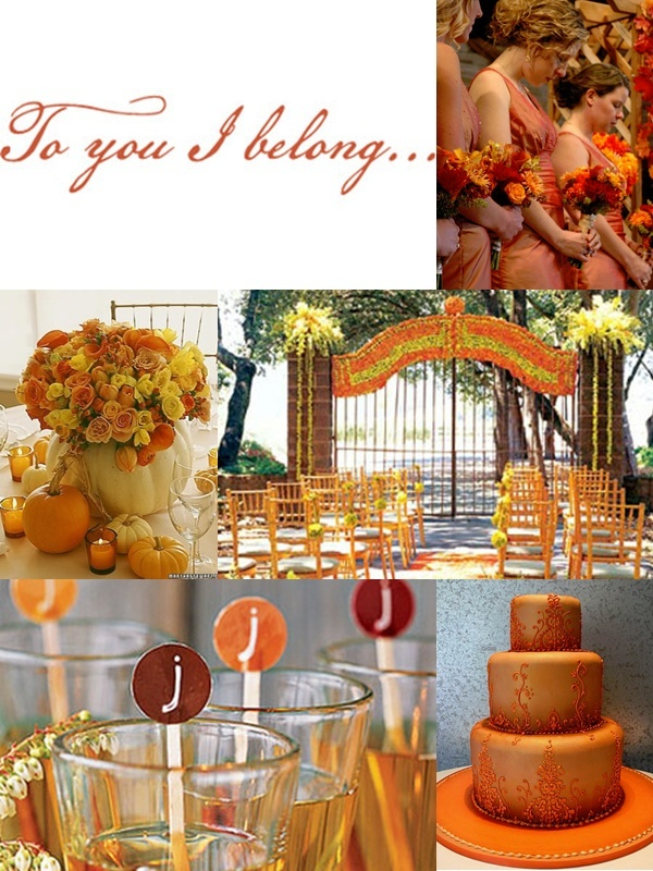 wedding ideas orange 1000 ideas about orange wedding centerpieces on 28275