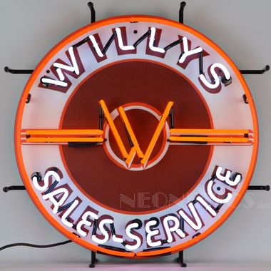JMC Equipment is an authorized distributor for Neonetics Neon Products. Check out the Neonetics 5JEEPW Jeep Willys Sales Service Neon Sign, one of the best Neon Light Products that Neomatic carries.