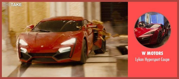 Vin Diesel W Motors Lykan Hypersport Coupe from Furious 7 | TheTake