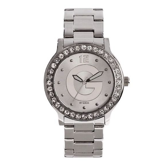 Silver Dial G-L... G By Guess Logo