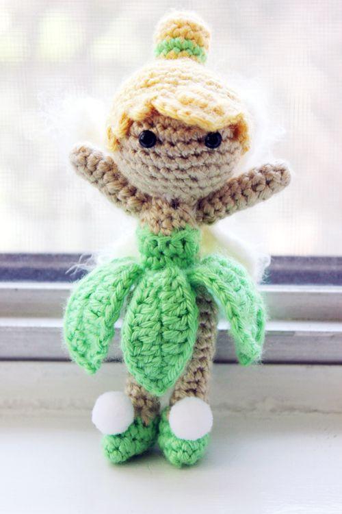 Tinkerbelle Princess amigurumi crochet pattern by Sahrit..
