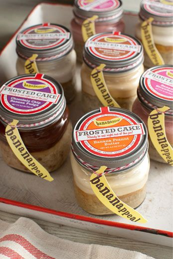 BANANAPPEAL: All-natural, ready to eat, banana based desserts, baked & sold in glass jars