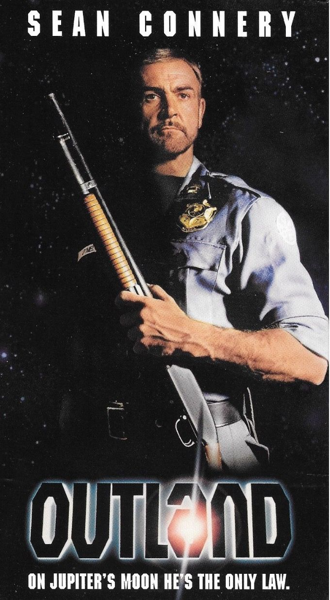 HIgh Noon in space! OUTLAND (1981) Sean connery, Sean