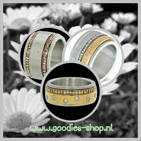 ☆☆☆iXXXi☆☆☆ Stel zelf je ring samen, de combinaties zijn eindeloos. Shop ze in de #goodiesshop #Zoutelande #Domburg en online #iXXXi