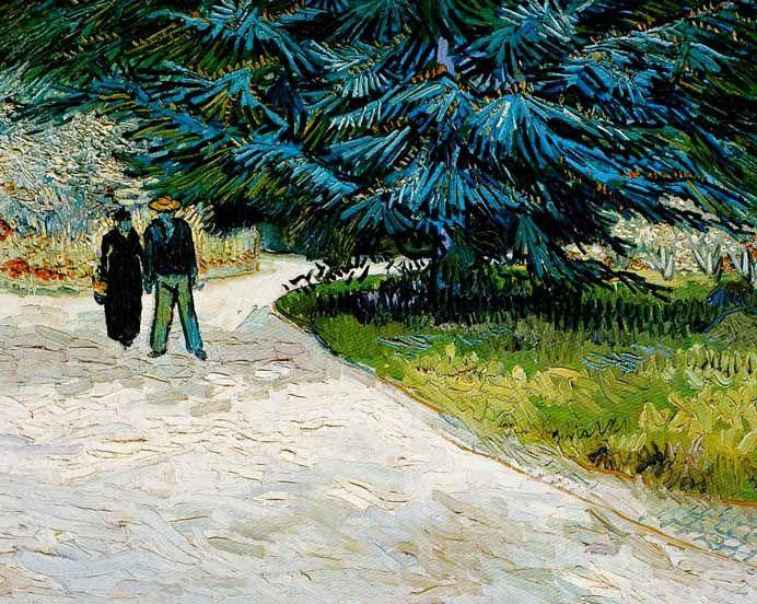 Vincent Van Gogh - Post Impressionism - Arles - Jardin du poète 2