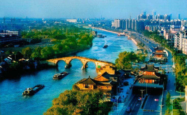 Grand Canal Beijing Hangzhou  #beautiful #travel #China #Beijing #photography