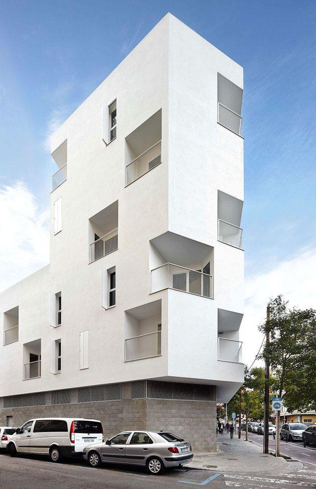 Palma de Mallorca, Spain Social Housing in Palma RIPOLL - TIZÓN