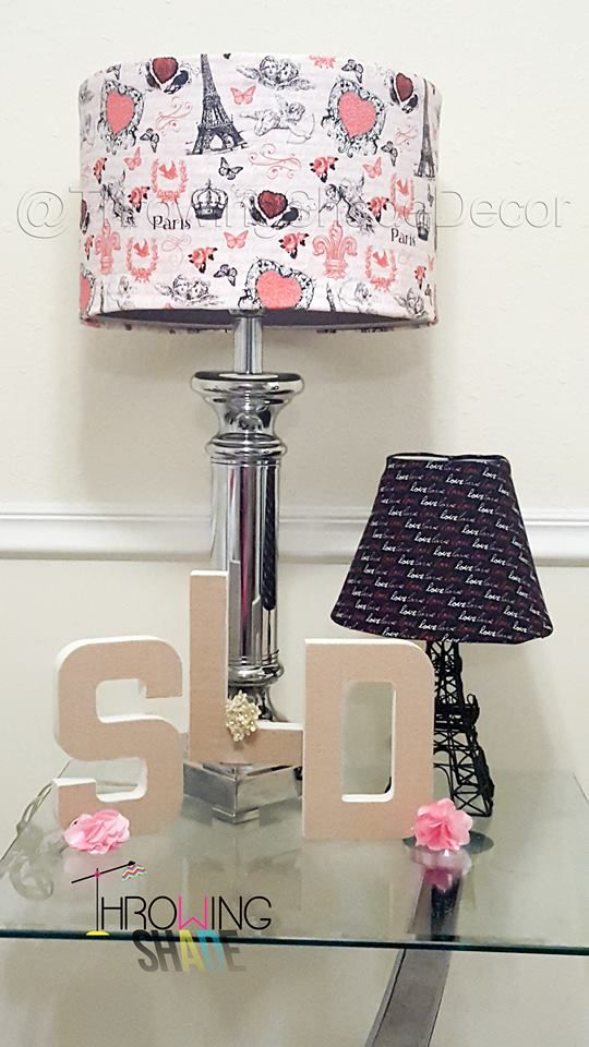 17 best lamp shade slip covers images on pinterest lamp shades these lamp shade slip covers features a paris love theme while the others features the mozeypictures Gallery