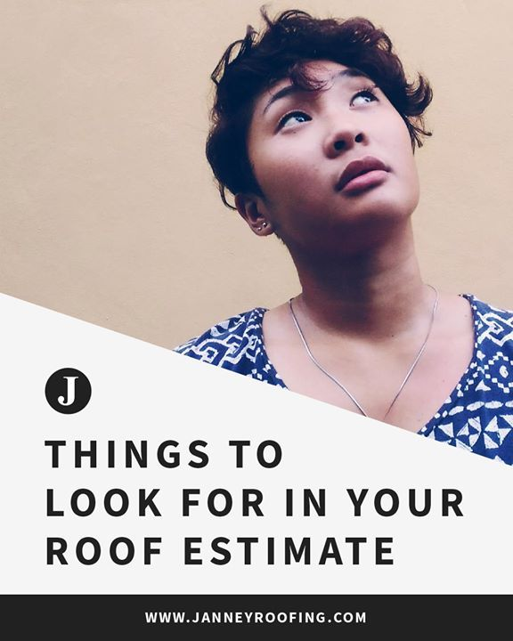 Check out our newest blog!   What To Look For In Your Roof Estimate!