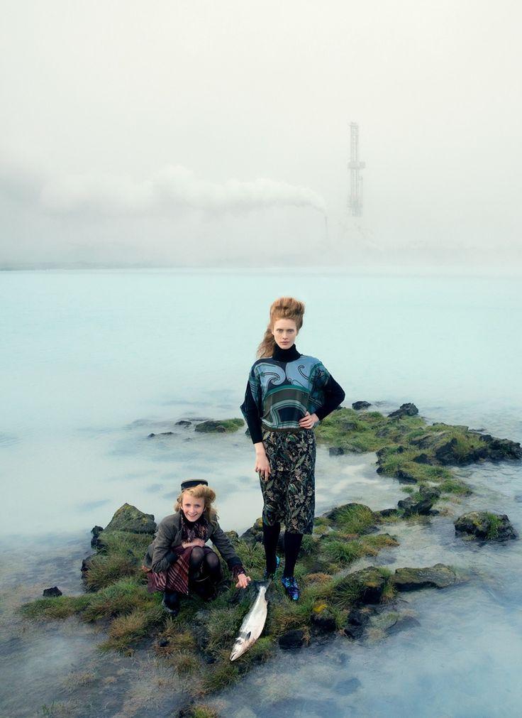 Ilva Heitmann By Elisabeth Toll For Grazia Germany 23Rd December 2014