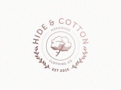 Hide & Cotton Logo on Designspiration