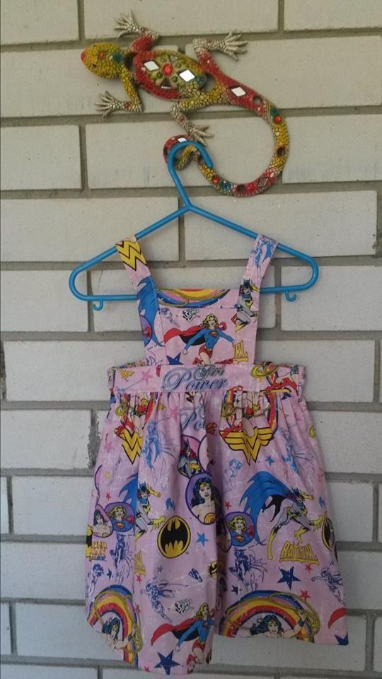 supergirl pinny