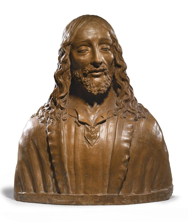 An Italian terracotta bust of Christ, after Verrocchio (1435-1488), late 15th century, Florence | Lot | Sotheby's