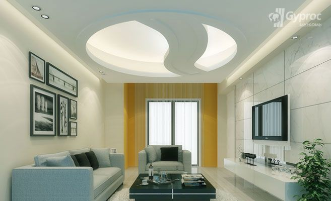 Geometric Ceilings | Geometric False Ceiling Designs | Saint-Gobain Gyproc India