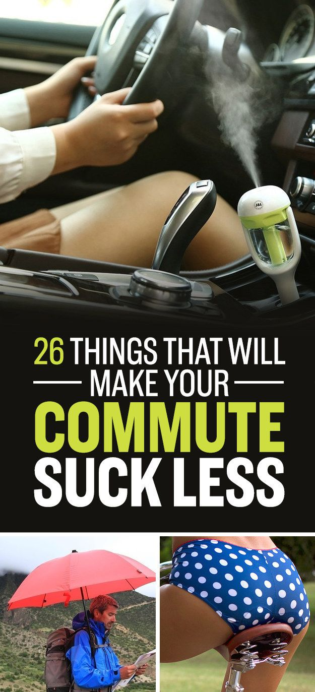 26 Things That Will Make Your Commute Suck Less