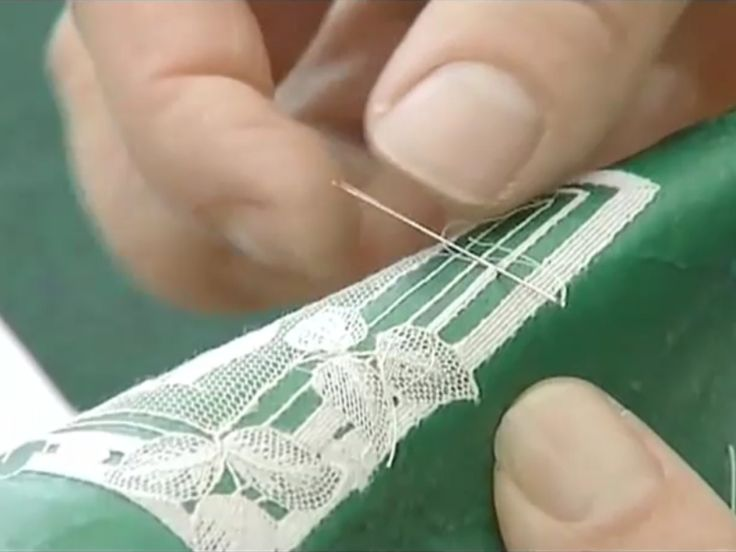 How to Make Needle Lace | Normandy Bed & Breakfast - Alencon