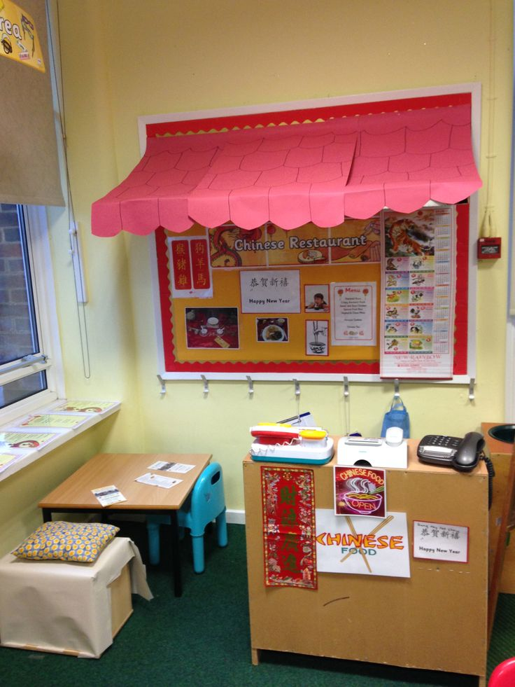 Chinese New Year role play area