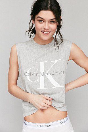 Calvin Klein For UO - Débardeur gris