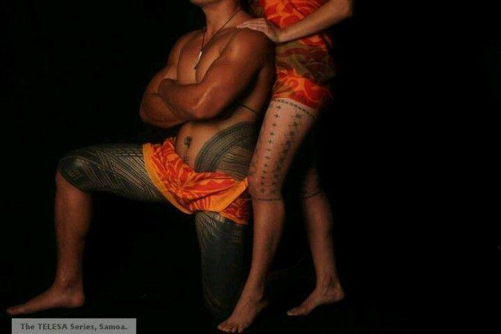 Samoas traditional male & female tattoos - BEAUTIFUL!!!