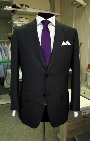 Мужской костюм из английской шерсти