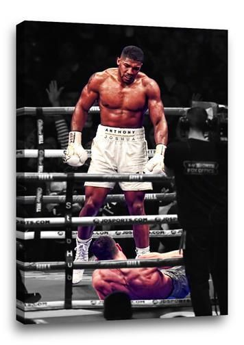 ANTHONY JOSHUA CANVAS MUHAMMAD ALI POSE BOXING POSTER PHOTO KLITSCHKO 30x20