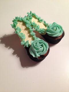 Krea10vmamma: Søte Sko cupcakes!
