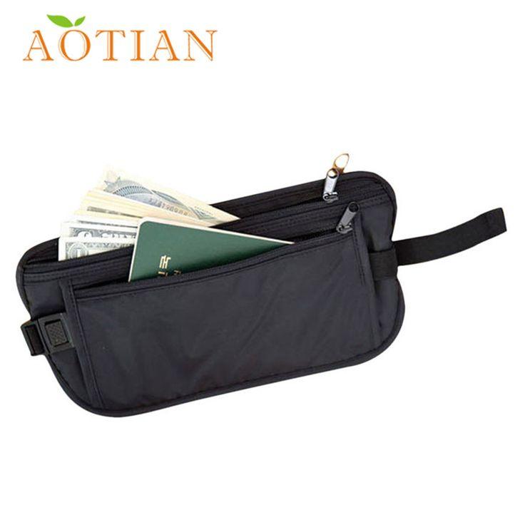 Best Gift Security Bags Wallet Casual Traveling Storage Zipper Waist Bag jn28