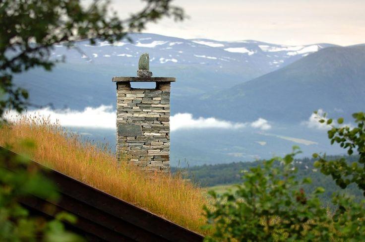 Chimeneas de pizarra en Noruega: Señales de humo sobre belleza y estilo