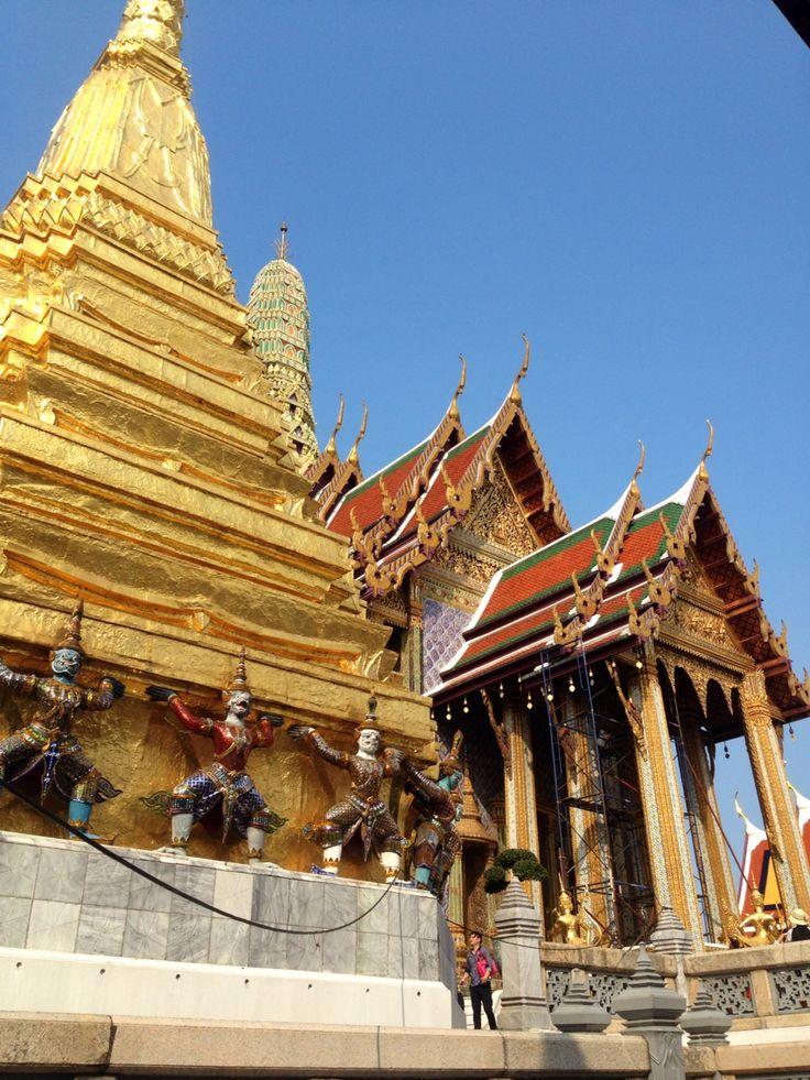 In the Grand Palace Bangkok