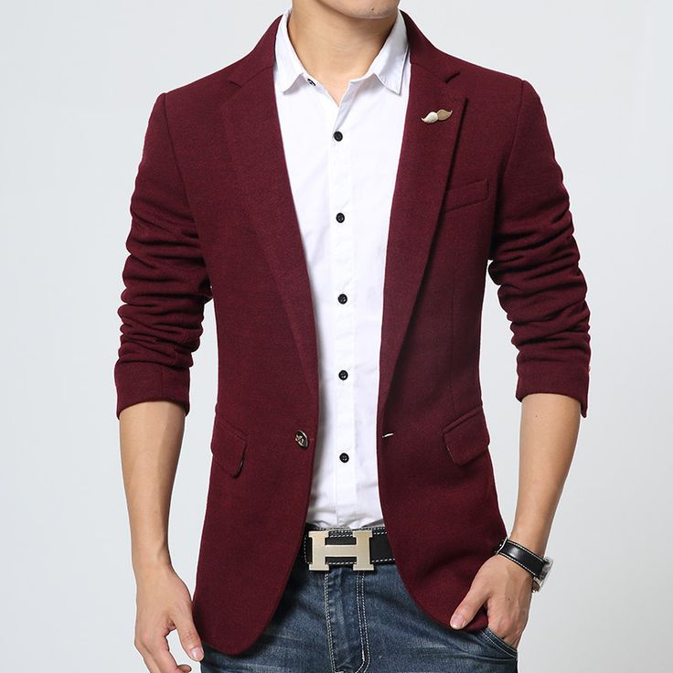 Design red mens blazer jacket coats casual new arrival high fashion homme terno slim fit designs suit jacket blazer masculino 68