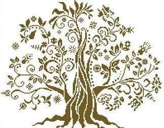 Alessandra Adelaide Needleworks Madre Terra Counted Cross Stitch Pattern Tree | eBay