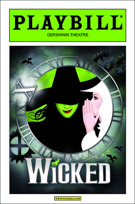 A COVER STORY: Wicked Playbill Will Be Greenified for 10th Anniversary on Broadway; Cover Revealed - Playbill.com