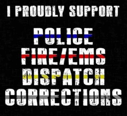 Wanna be a firefighter but I support them all!!  ⚫️⚫️⚫️⚫️   ⚫️⚫️❤️⚫️⚫️ ⚫️⚫️⚫️⚫️