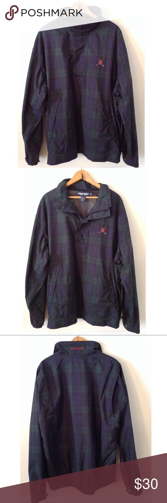 🔥🔥Polo Ralph Lauren Golf Jacket🔥🔥 Selling a vintage Polo Ralph Lauren pullover golf jacket. This jacket is in great condition. Polo by Ralph Lauren Jackets & Coats Lightweight & Shirt Jackets