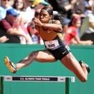World champion Lashinda Demus won the women's 400m hurdles in 53.98