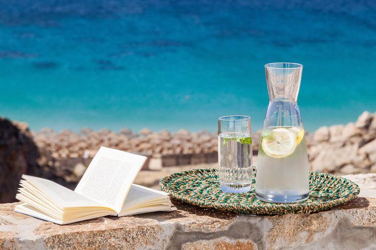 Breathtaking Seaview Villa in Elia, Mykonos Greece.
