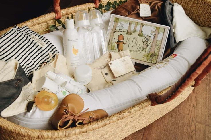 sweet gift basket for baby
