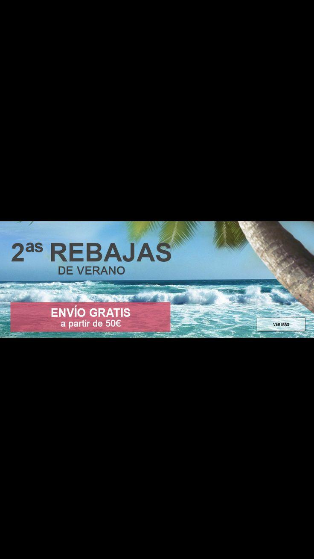 ¡¡¡Ahora sí que sí!!! SEGUNDAS #REBAJAS de #verano🌞🌴👡 en SALVADOR ARTESANO ZAPATERÍAS y www.zapatosparatodos.es con ENVÍO GRATIS* ¡Visítanos y alucina! 😮🙌👏