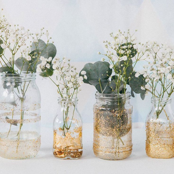 Customize recycled bottles for your wedding decor – Studio easyElement
