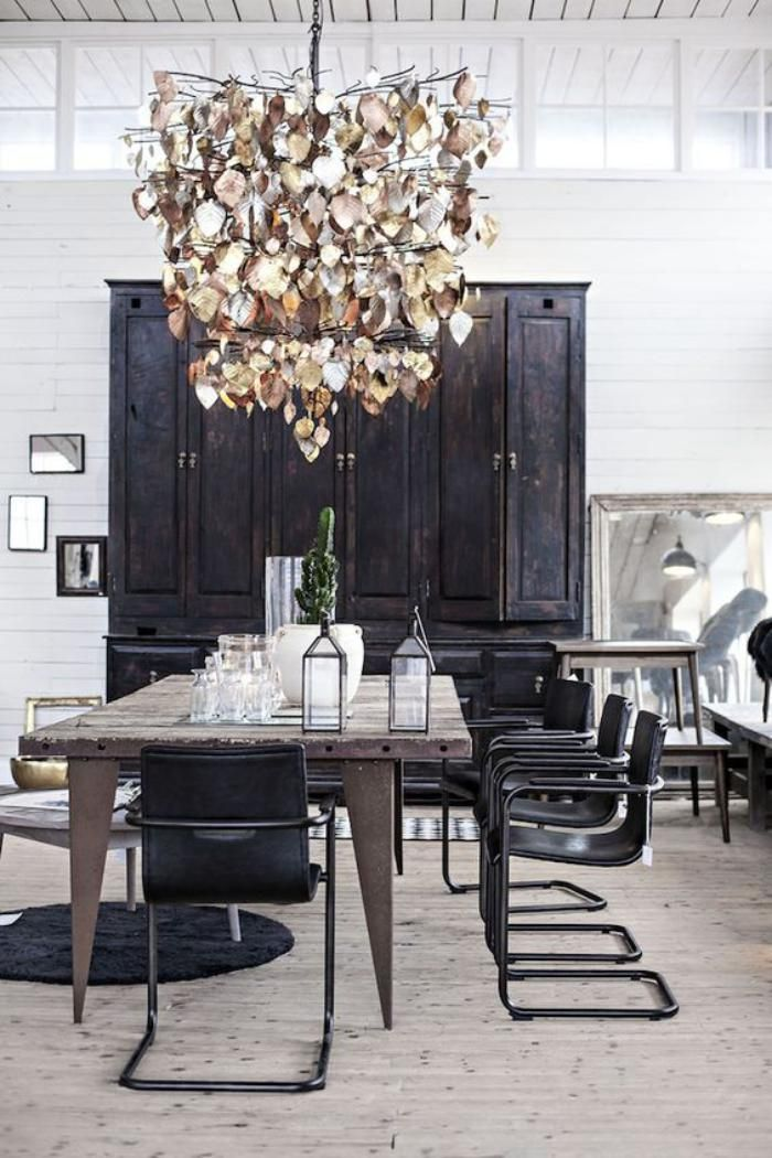 South Scandinavian style dining room, HumIdeas. http://www.kenisahome.com/blog