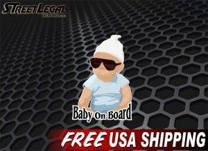 "Baby On Board 7"" Vinyl Decals"