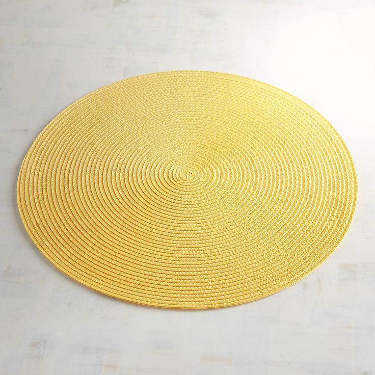 Mesa Sunshine Yellow Placemat