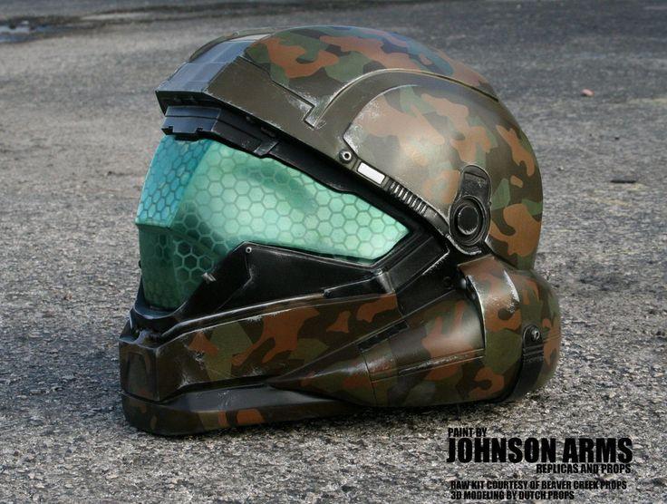 HALO 5 ODST Buck Helmet Replica by JohnsonArms on DeviantArt ...