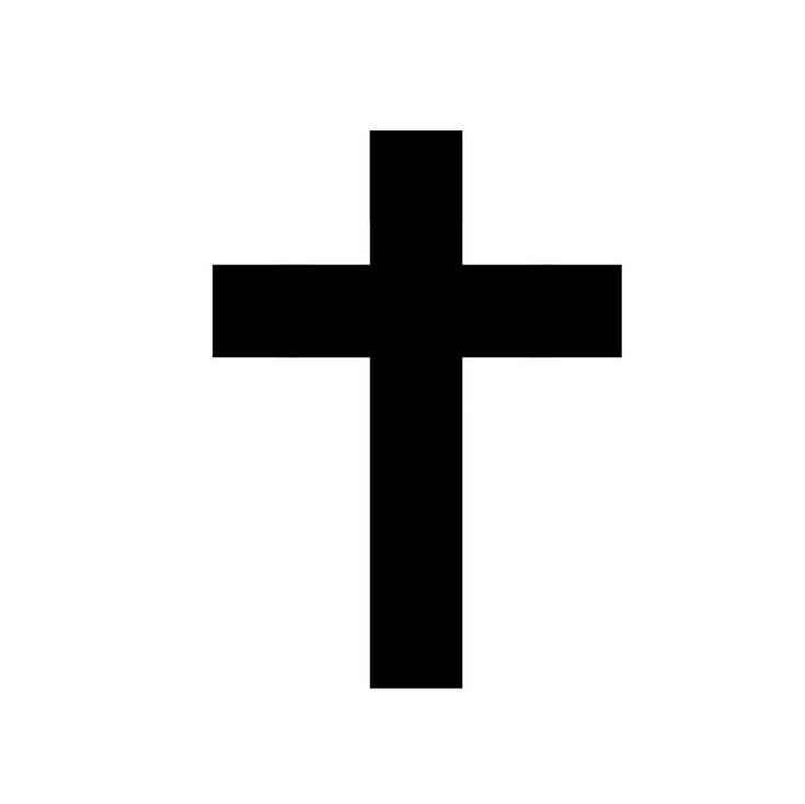 Thin Cross Tattoo Design 10 temporary cross tattoos black cross tattoo ...