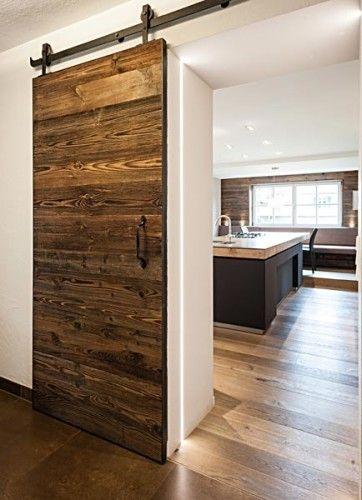 Die besten 25+ Moderne scheunentore Ideen auf Pinterest - landhausstil rustikal wohnzimmer