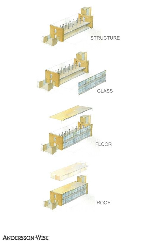 Fleck Hall,Diagram