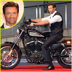 Hugh Jackman and Harley :)