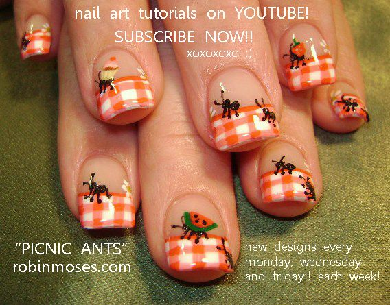 42 best easter nail art pics with tutorials st paddies nail art nail art by robin moses harry potter nail art design red and black prinsesfo Image collections