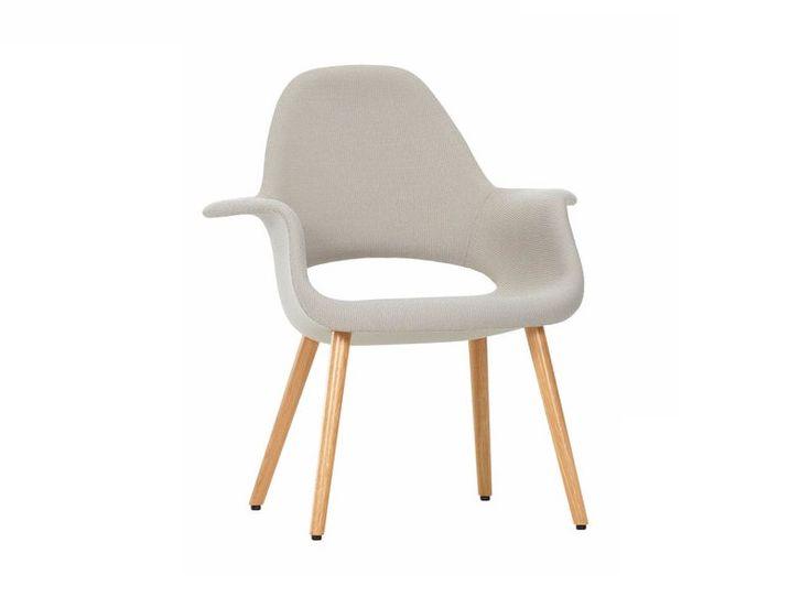 Großartig Online Kaufen Organic Chair By Vitra, Gepolsterter Stuhl Aus Stoff Mit  Armlehnen Design Eero Saarinen