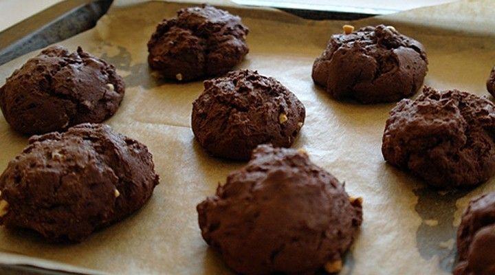 Bananen Protein Cookies